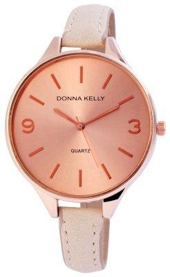 Donna Kelly Damenuhr Kunstleder Farbe Rosé Roségold Trend Modern 191035500005
