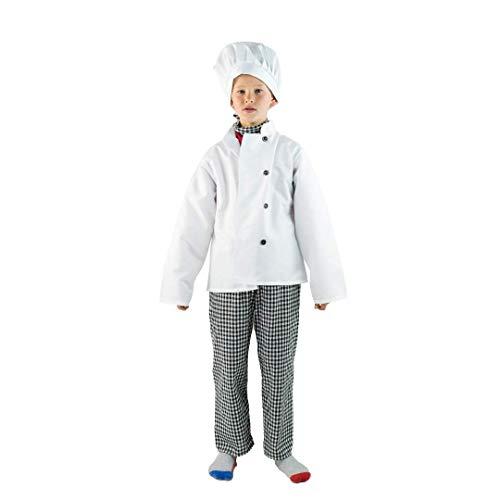 Kostüm Dress Koch Fancy - Bodysocks®  Chefkostüm für Kinder (5-7 Jahre)
