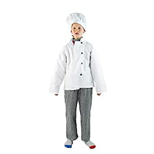 Bodysocks® Disfraz de Cocinero para Niños
