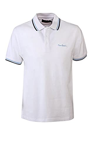 Pierre Cardin Mens neue Saison fit Classic Polo Gespitzt (X-Groß, weiß)