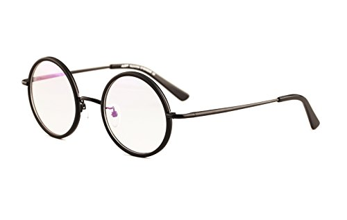 agstum-small-round-optical-glasses-frame-spring-hinge-clear-lens-43mm-all-black-43