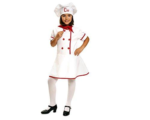 Imagen de my other me  disfraz de cocinera para niña, 5 6 años viving costumes 200953