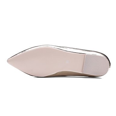 Confortevole ed elegante piatto scarpe donna Appartamenti Primavera Estate Autunno Inverno altre parti in microfibra & abito da sera Casual tacco piatto Strass oro rosa nastro Pink