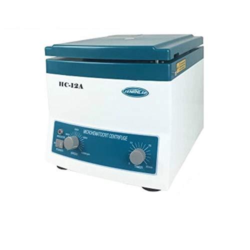 WENHU Le Sang Centrifugeuse hématocrite centrifugeuse séparateur à Grande Vitesse 12000 RPM, Stepless Régulation de Vitesse