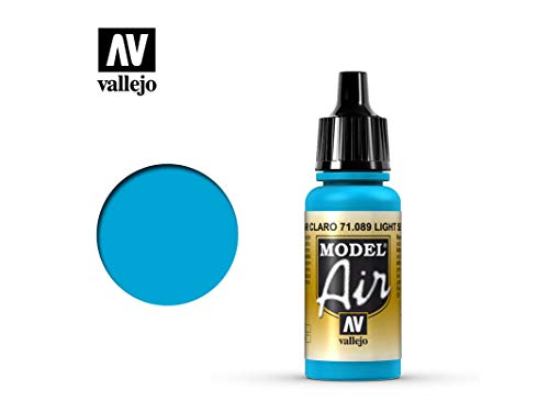 Farbe Vallejo Model Air 71089 Light Sea Blue (17ml)
