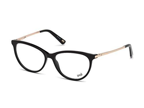 Web we5239, occhiali da sole unisex-adulto, (nero lucido), 54.0