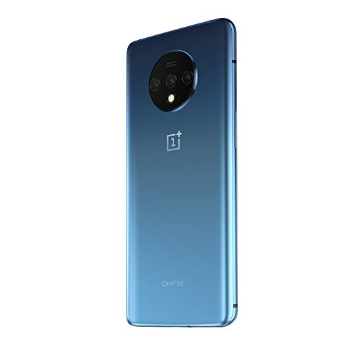 OnePlus 7T (Glacier Blue, 8GB RAM, Super AMOLED Display, 256GB Storage, 3800mAH Battery)