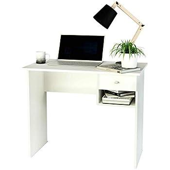 Furinno 14098R1EX//BK Facile da Montare scrivania per Computer Espresso