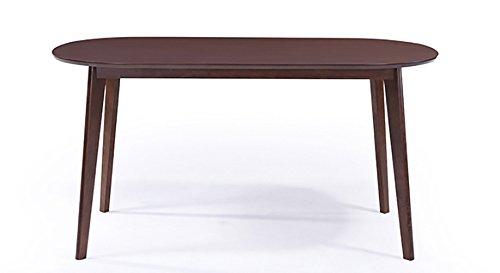 Urban Ladder Noren Six Seater Dining Table (Dark Walnut)
