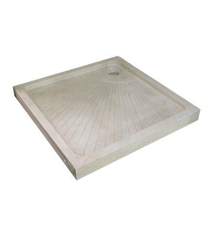 Duschwanne 90x 90x 8,5quadratisch in Monoblock monolithischen
