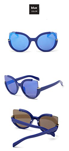 WWVAVA Sonnenbrillen Kaleidoskop Brille Cat Eye Sonnenbrille Frauen HD ObjektivBrillengestell Mode LuxusSonnenbrilleUV400 für Männer Frauen, Weiß