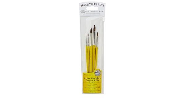 Royal Brush 9121 Set Value Pack Sable Vari
