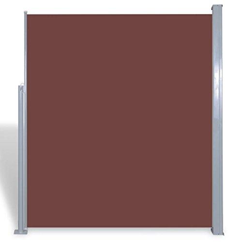 FZYHFA tendalino Lateral para Patio terraza 160x 300cm marrón Vel