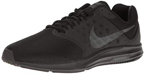 Nike Downshifter 7, Scarpe Running Uomo, Nero (Black / Metallic Hematite / Anthracite), 42.5 EU