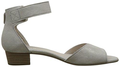 Gabor Fashion, Sandales Bout Ouvert Femme Rose (puder 61)