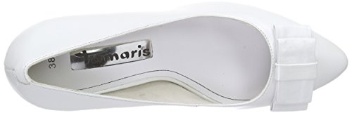 Tamaris 22463 Damen Pumps Weiß (White 100)