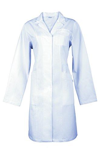 Damenmantel von Hiza 100% Baumwolle - Art. 311661 - Weiß Weiß