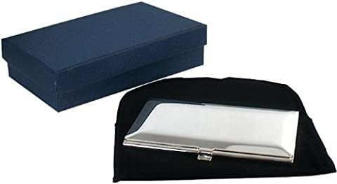 Personalised Bevelled Business Card Holder Engraved