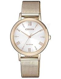 0b5eb4090958 Citizen Lady - Reloj para Mujer Eco Drive Chapado Oro Rosa EM0576-80X