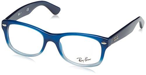 Ray-ban 0ry 1528 3581 48 montature, blu, unisex-bambini