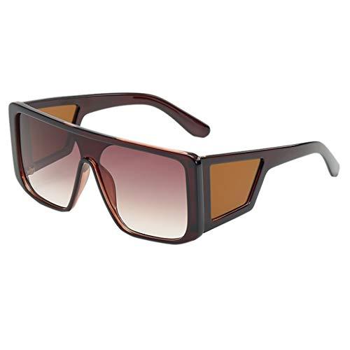 Sonnenbrille Unisex Brillenträger Mann Frauen unregelmäßige Form Sonnenbrille Outdoor UV-Schutz Ultraleicht BrilleVintage Retro-Stil Brille zum Skifahren Autofahren Fischen Laufen Wandern Sport