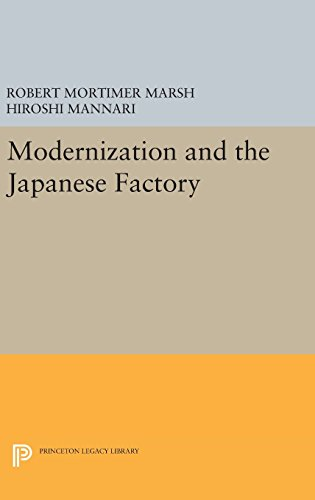 Modernization and the Japanese Factory (Princeton Legacy Library)