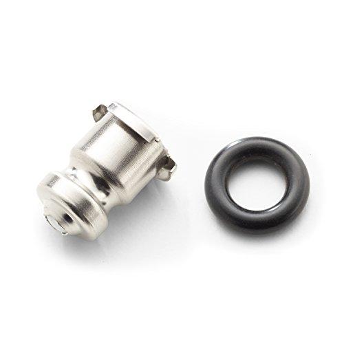Kleiner O-ring (Fissler Ventil Euromatic mit O-Ring für alle Größen - Original Ersatz Ventil für Fissler Schnellkochtöpfe - Einfaches Auswechseln - 011-631-00-750/0 - für alle Größen)