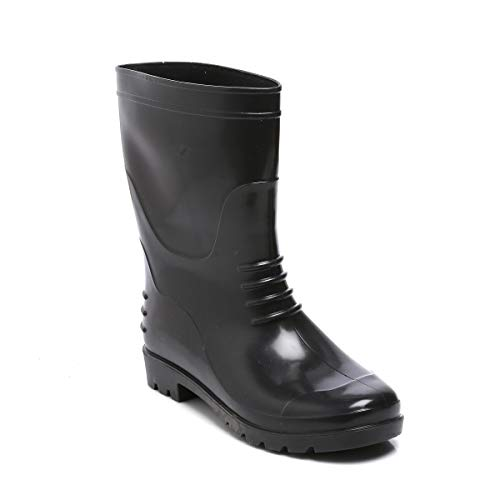 """Agarson Full PVC Dual Density High Ankle Safety Gum Boots (12"""" Height); BAHUBALI"""