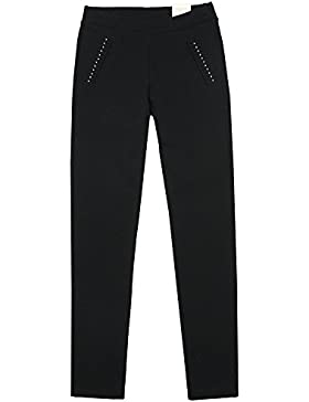 MAYORAL Jeggings punto roma JUNIOR GIRL 7717 Nero