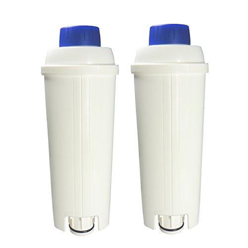 2er Pack DeLonghi Wasserfilter für Kaffemaschinen geeignet für ECAM, ESAM, ETAM, BCO,EC...