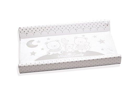 Italbaby 050.6010-10Happy Family cambiador PVC 2lados, 81,5 x 50 x 9 cm