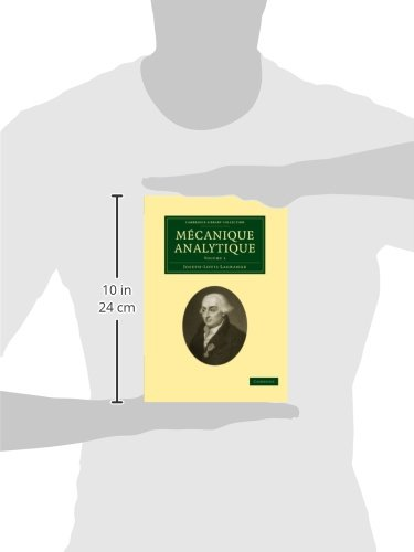 Mécanique Analytique 2 Volume Paperback Set: Mécanique Analytique: Volume 1 Paperback (Cambridge Library Collection - Mathematics)