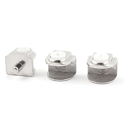 Demi Etageres - sourcingmap® 3pcs demi-ronde acier inoxydable Collier support