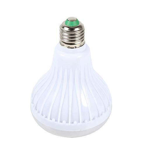 Garosa LED Wireless Glühbirne Lautsprecher RGB Smart Music E27 Basis Farbwechsel mit Fernbedienung für Party Home Halloween Weihnachtsschmuck 12W