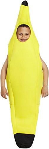 Kinder Kostüm Banane - KOSTÜM KINDER BANANE GROß 10-12 JAHRE