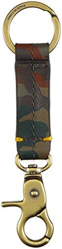 Fossil Herren Schlüsselanhänger Geldbörse, Mehrfarbig (Multi), 3.18x0.32x13.34 cm (Schlüsselanhänger Fossil)