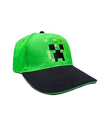 Minecraft Unisex-Adultos Gorra