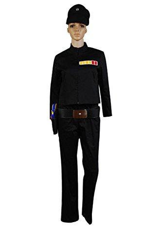Fuman Star Wars Imperial Officer Uniform Cosplay Kostüm (Kostüme Star Frau Wars)