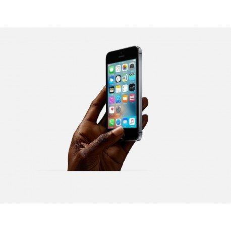 Apple iPhone SE SIM   nica 4G 32GB Gris - Smartphone  10 2 cm  4    32 GB  12 MP  iOS  10  Gris