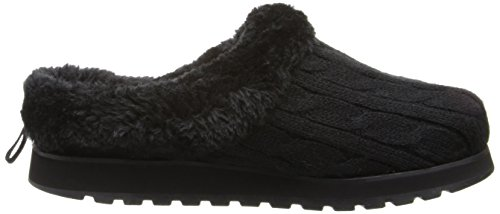 Bobs by Skechers Keepsakes-Delight-Fall Large Toile Pantoufle Black