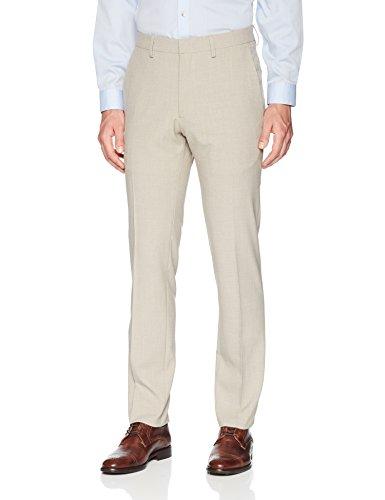 Kenneth Cole Reaction Men's Stria Slim Fit Flat Front Dress Pants