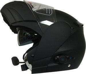 Viper RS V131 Bluetooth Adulte Flip Up casque de moto Noir mat NEUF, moyen