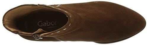 Gabor Damen Comfort Sport Stiefel Braun (Whisky Ldf)