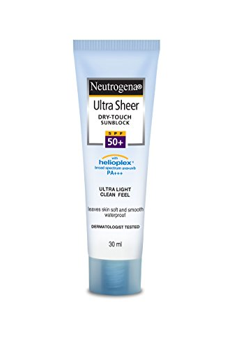 Neutrogena Ultra Sheer Dry Touch Sunblock, SPF 50+, 30ml
