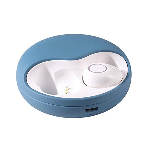 Lxdoo Headset Bluetooth Wireless Sport-Headset Mini-Stereo-Stereo-Kopfhörer@Blau - Aktionschip -