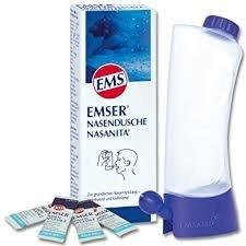 Emser Nasendusche Nasanita Spar-Set 6x1Stck, zur gründlichen Nasenspülung- wohltuend und befreiend