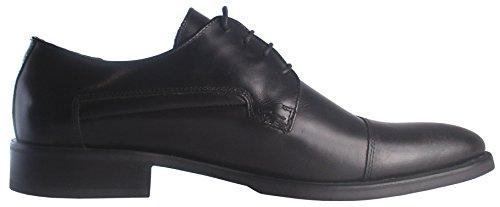 Tom Laurens Ethan - Richelieu dessus et doublure en Cuir de veau, chaussures de ville Noir