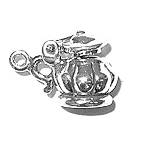 - Argent 925 Sterling-Sucrier couvert à thé/café-Ware pendentif breloque