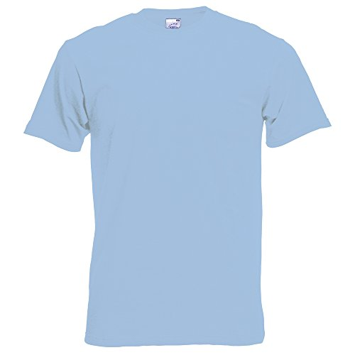 Fruit of the Loom Original full cut tee Sky Blue