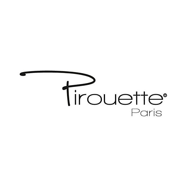 cm Pirouette Paris 7576300 Juju Hat D/éco Murale en Plumes de Coq /Ø 60 cm 60 x 60 x 2 Blanc-Noir